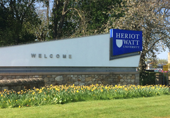Security Systems at Heriot Watt University